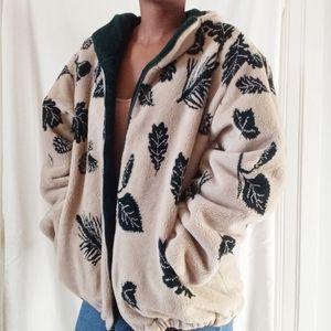 ST. JOHNS BAY | Tan Autumn Sherpa jacket